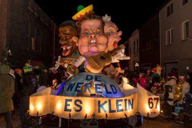 Machtiging voor carnavalsgroepen