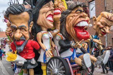 72 carnavalsgroepen in 91ste stoet