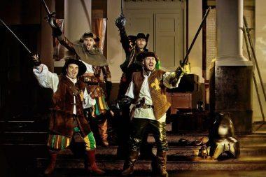Onze kandidaat-prinsen als 4 musketiers