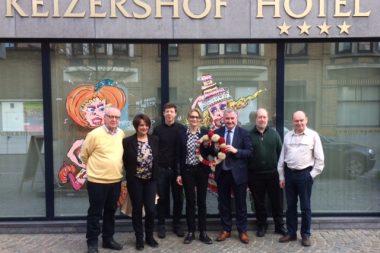 Delegatie uit zusterstad Gabrovo bezoekt carnaval