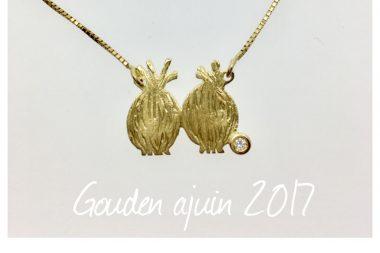 Juwelier Claessens ontwierp Gouden Ajuin