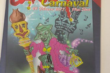 Carnavals- en kermismagazine in de bus