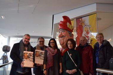 Delegatie uit zusterstad Gabrovo bezoekt Aalst Carnaval