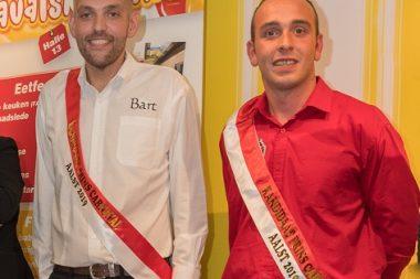 2 kandidaten Prins Carnaval 2019
