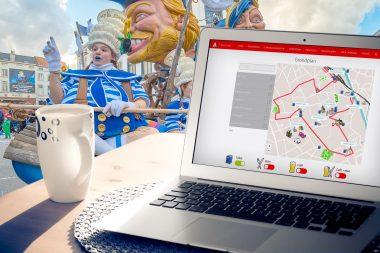 Feestplan gidst je naar de carnavalscafés